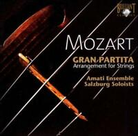 MOZART: GRAN PARTITA (ARRANGEMENT FOR STRINGS) NEW CD