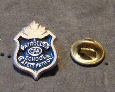 Patroller School Safety Patrol Badge Pin Lapel Maple Leaf