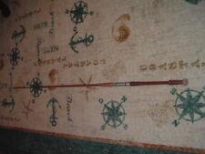 Frostco Tackle Fishing Rod Pole Wood Hexagonal Antique