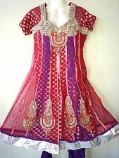 Bollywood Salwar Kameez abito Dupatta Anarkali Matrimonio Sari Orient Shalwar
