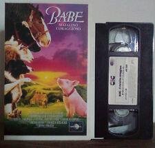 VHS FILM Cartoni Animati BABE MAIALINO CORAGGIOSO cic video no dvd(VHS9)