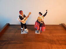 TWO MARIN CHICLANA DOLLS MADE IN SPAIN NICE INTERNATIONAL SALE
