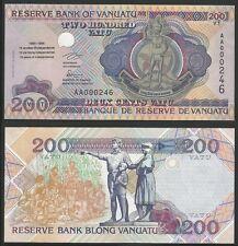 VANUATU - 200 Vatu ND (1995)  UNC  Pick 9 commemorativa AAA 000246