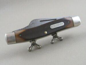 Vintage SCHRADE OLD TIMER USA 80T Folding Pocket Knife