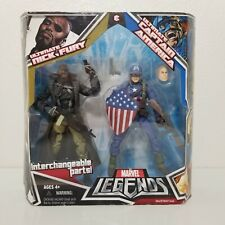 Marvel Legends Ultimate Captain America & Nick Fury Action Figures 2-Pack 78427