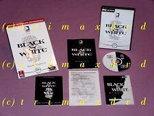PC _ Black & White + Offiz.Lösungsbuch _ sehr guter Zustand _1000 Spiele im SHOP