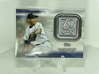 MARIANO RIVERA 2021 Topps Series 1 70th Anniversary Commemorative Patch Yankees