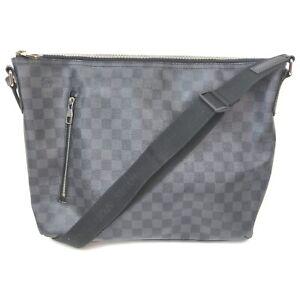Louis Vuitton Shoulder Bag Mick MM  Black Damier Graphite 840177