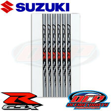 NEW GENUINE SUZUKI 2007 - 2016 GSX-R 1000 GSXR1000 OEM GSX-R WHEEL DECALS