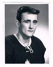 Original End 60's Verdun Maple Leafs M. Delage Photo