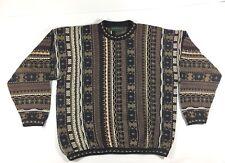 TUNDRA Canada Men's Size XL Sweater 100% Cotton Mercerized