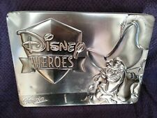 MEGA RARE 2003 DISNEY HEROES PIRATES TIN PETER PAN FAMOSA NEW HOOK NEVER PLAYED