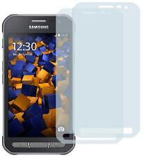 mumbi 2x Folie für Samsung Galaxy Xcover 3 Schutzfolie klar Displayschutz Handy