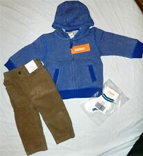 Pant Sweater Set Gymboree 4pc Khaki Corduroy Winter Boy size 12-18 month New