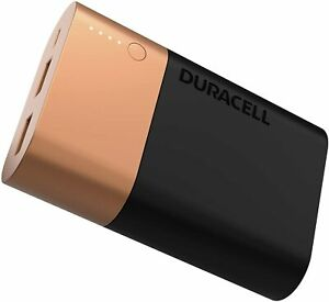 Duracell Powerbank 10050 mAh, Fast Charge External Battery Pack for Smartphones
