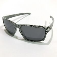 Oakley Sunglasses * Sliver 9262-15 Fingerprint White Black Iridium COD PayPal