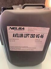 Olio Idraulico ISO VG 46 AVILUB LIFT - FUSTINO DA 10LT