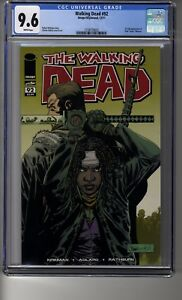 Walking Dead # 92 - CGC 9.6 WHITE Pages - First Paul Monroe (Jesus)
