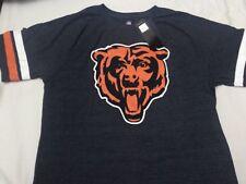 Men's Fanatics BEARS refresh Timeless Triblend Navy T-shirt- Large, New