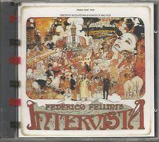 NICOLA PIOVANI - L'intervista - FEDERICO FELLINI CD OST 1987 SIGILLATO SEALED