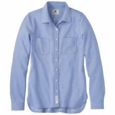 Roots73 Women's Solace Blue Baywood Long Sleeve Shirt