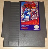 Mega Man 2 II Nintendo NES Vintage classic original retro game cartridge