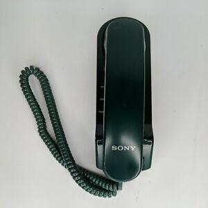 Vintage Sony IT-B3 Corded Telephone/Landline Single Line (Green)
