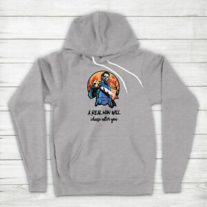 Michael Myers A Real Man Will Chase After You Halloween Horror Hoodie Sweater