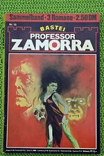 Professor Zamorra Nr. 62, Erstdruck, Sammelband 15 mit Nr.: 9, 23, 25 Zustand: 2