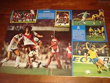 FRANCE FOOTBALL   SEPT 1980  EURO CUP MATCHES (VALENCIA-MONACO  LINFIELD-NANTES)