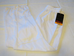 Wilson Athletic Adult Mens S Baseball Pull up Pant 1 pair white sports A4374 NOS