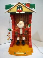 Animated Christmas NOMA Santa's North Pole Workshop Puppet Theater TOY SOLDIER