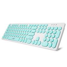 104 Keys Retro Gaming Wired Keyboard Desktop Laptop Typewriter Computer Keypads