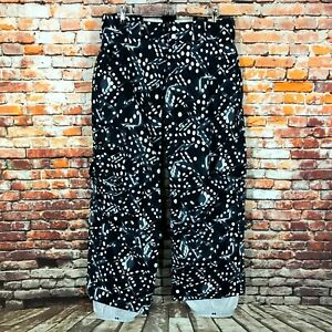 Burton Ronin Ski Snowboard Black Pants Mens Trousers Size M