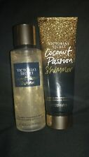 Victoria's Secret coconut passion Shimmer Lotion And Mist