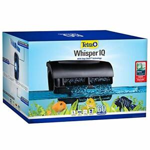 Whisper IQ Power Filter 60 Gallons, 300 GPH, with Stay Clean Technology