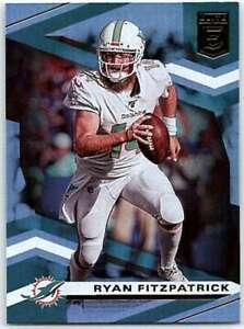 2020 Elite #12 Ryan Fitzpatrick NM-MT Dolphins
