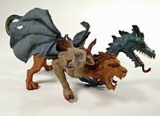 Chimera Beast Dragon Lion Goat Snake 4 Headed Monster Mythical Toy 2008 Safari