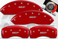 2002-2005 Mercury Mountaineer Front + Rear Red MGP Brake Disc Caliper Covers