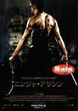 NINJA ASSASSIN Movie POSTER 27x40 Japanese Naomie Harris Randall Duk Kim Sung