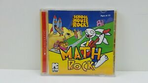 School House Rock! Math Rock Software PC 2005 Very Good Condition Free Shipping
