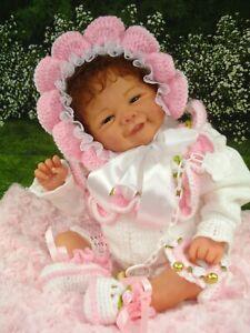 """Reborn Reallife Baby Unikat""""Vivienne""""mit Zertifikat und Geburtsurkunde"""