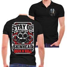 POLO Shirt OI Skinhead Rockn Roll Skinheads Workingclass Clockwork Schlagring