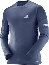 Salomon Homme T-shirt de Sport À manches longues Agile LS Tee Jersey Double...
