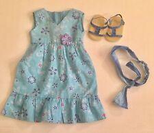 American Girl Doll- GOTY 2011- Kanani - Original Meet Dress , Sandals , + Extra