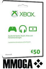 Xbox Live 50 Euro Guthaben Online Code Microsoft Xbox 360 & One 50€ EUR Key [EU]