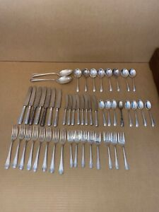 Birks YORK Regency Plate Flatware Set  50 Pieces