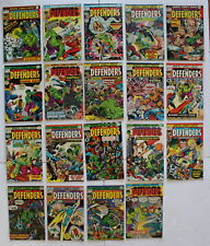 DEFENDERS 1972-1986 #12-30 Magneto Luke Cage Starhawk Guardians of Galaxy VG/FN