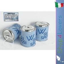 """3 Barattoli """"VIVA GLI SPOSI"""" con cordicella - cm. h.13x11,5 diametro"""