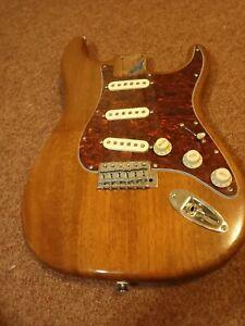 Warmoth 1 piece mahogany custom Fender lic strat  Callaham Clapton TBX Van Zandt